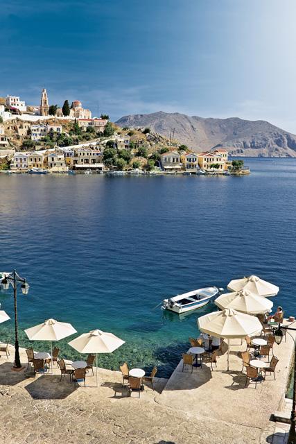 Rooms Nireus Hotel Symi island Greece