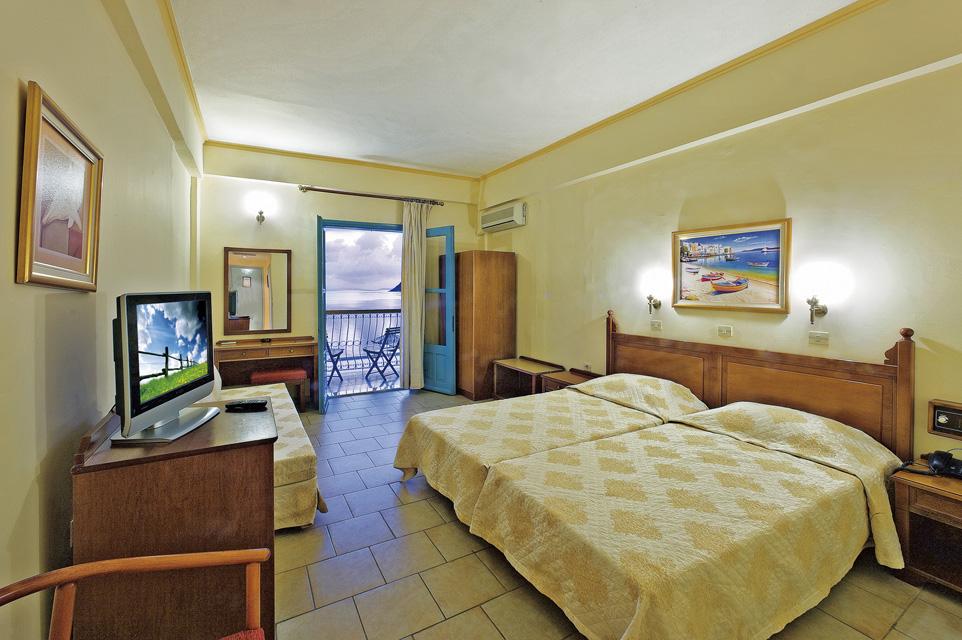 Nireus Double Room   Sea View. Rooms   Nireus Hotel  Symi island  Greece